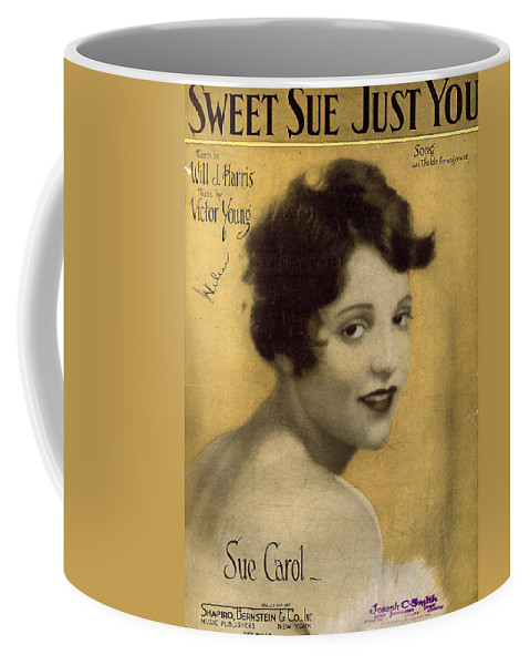 Classic Coffee Mug featuring the photograph Sweet Sue Just You by Mel Thompson