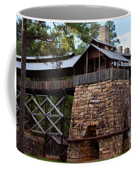 Tannehill Coffee Mug featuring the photograph Tannehill Furnaces 2012 by Maria Urso