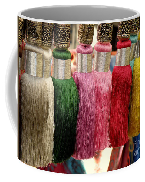 Tassels Coffee Mug featuring the photograph Tassels by Lainie Wrightson