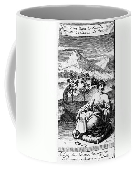 1687 Coffee Mug featuring the photograph Tea: Treatise, 1687 by Granger