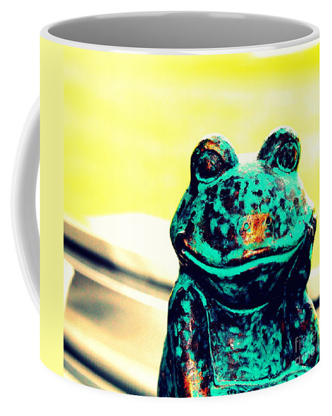 Still Life Coffee Mug featuring the photograph Tell Me About Yourself by Samantha Glaze