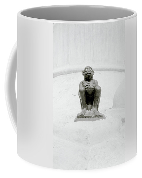 Devil Coffee Mug featuring the photograph Temple Devil by Shaun Higson