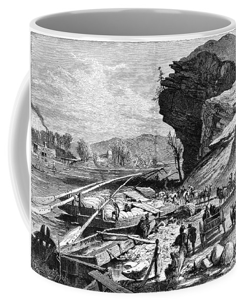 19th Century Coffee Mug featuring the photograph Tennessee: Chattanooga by Granger