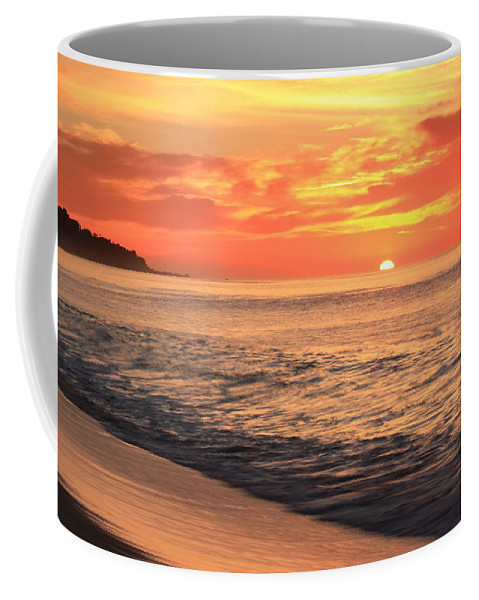 Tequila Sunrise Coffee Mug featuring the photograph Tequila Sunrise by Roupen Baker