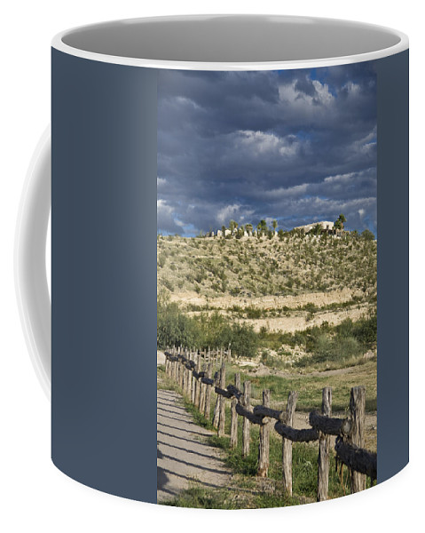 Arid Coffee Mug featuring the photograph Texas, Western Themed Brewster County by Richard Nowitz