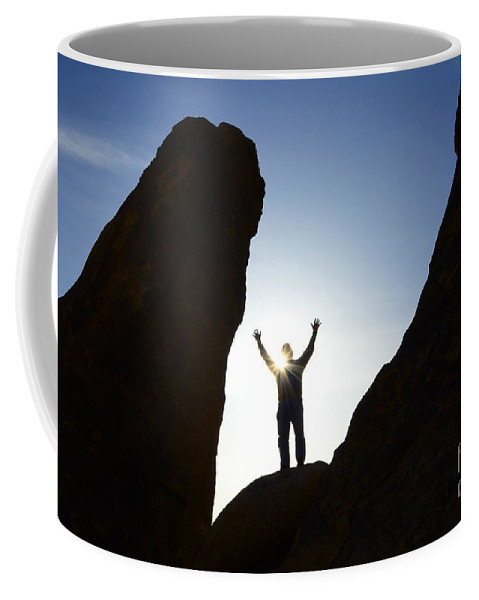 Alabama Hills Coffee Mug featuring the photograph Thanks For Today Hope For Tomorrow by Bob Christopher