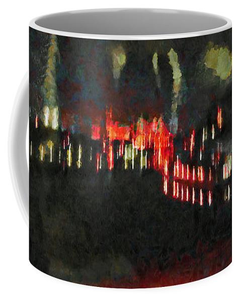 The Air That We Breath Coffee Mug featuring the digital art The Air That We Breath by Steve Taylor