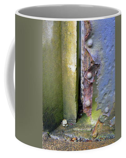 Abstract Coffee Mug featuring the photograph The Battle Lost by Pamela Patch