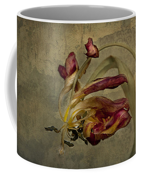 Tulip Coffee Mug featuring the photograph The Beauty Never Dies by Claudia Moeckel