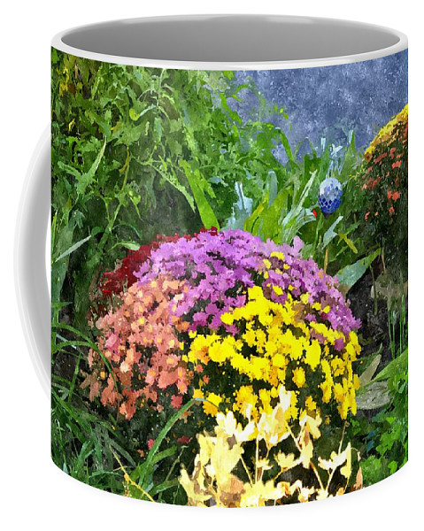 Flowers Coffee Mug featuring the digital art The Beauty Of Fall Bofwc by Jim Brage
