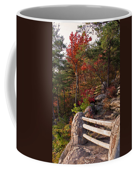 Bluff Coffee Mug featuring the photograph The Bluff by David Troxel