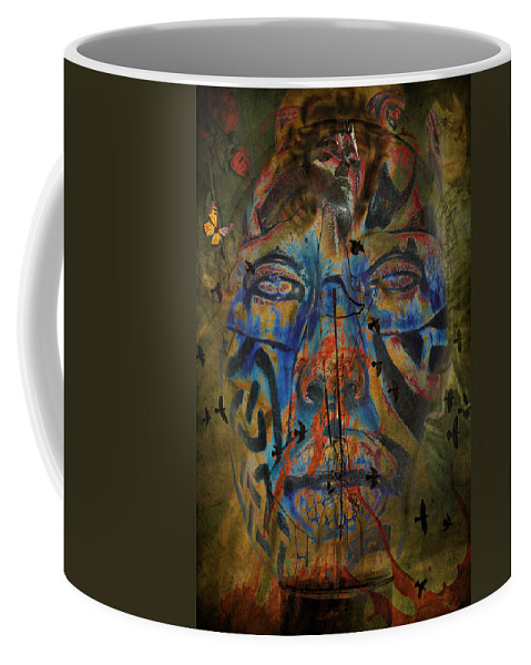 Aces Coffee Mug featuring the photograph The Change Of Faces by The Artist Project