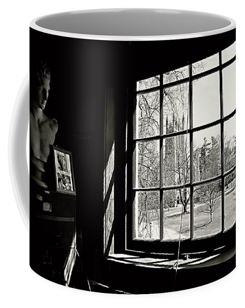 Groton School Coffee Mug featuring the photograph The Chapel View by Marysue Ryan
