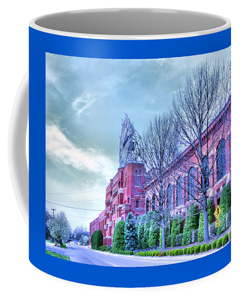 Company Coffee Mug featuring the photograph The Colgate-pamolive Company Building II by Steven Ainsworth