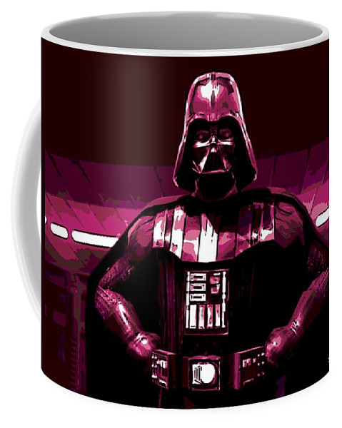 Dark Side Coffee Mug featuring the photograph the Dark Side is Strong by George Pedro