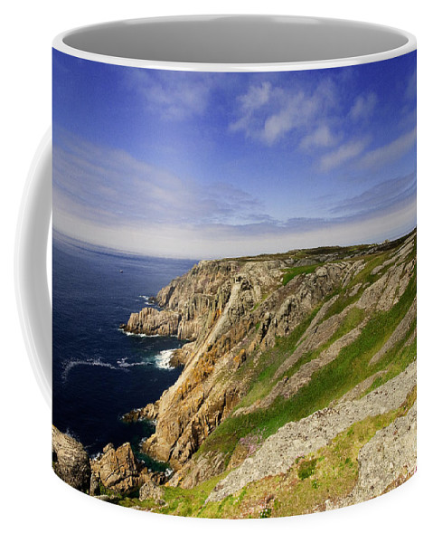 Lundy Coffee Mug featuring the photograph The Devil's Slide by Rob Hawkins