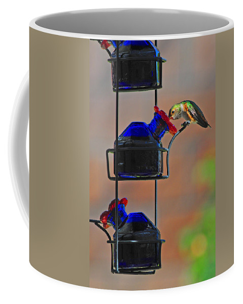 Hummer Coffee Mug featuring the photograph The Drink by Lynn Bauer