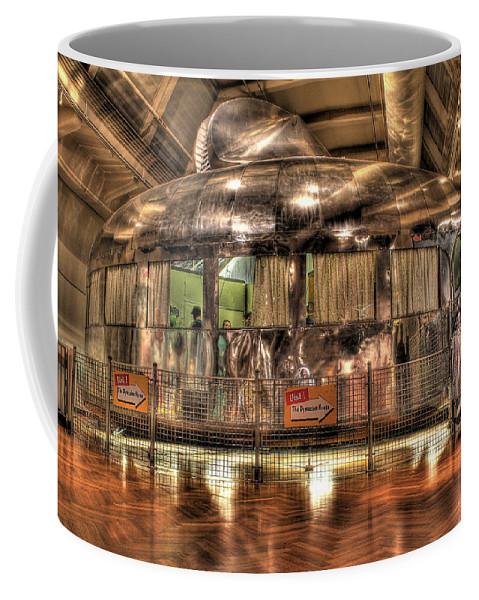 Coffee Mug featuring the photograph The Dymaxion House Dearborn Mi by Nicholas Grunas