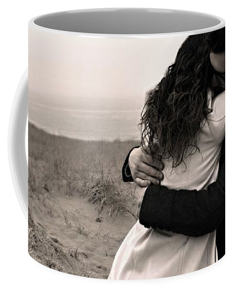 Love Coffee Mug featuring the photograph The Embrace by Marysue Ryan