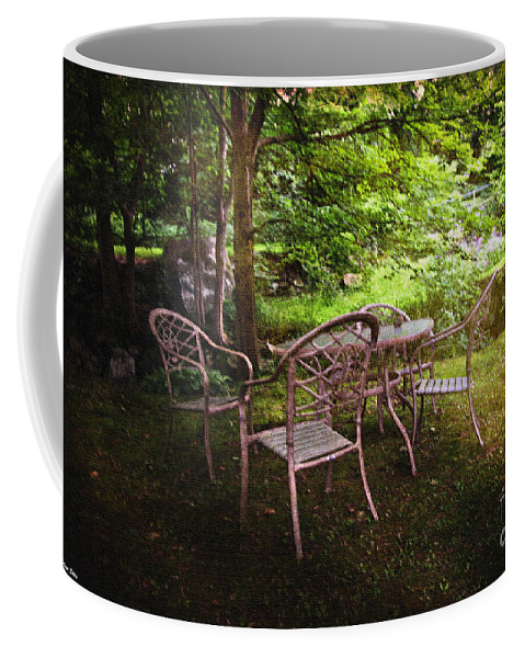 Garden Coffee Mug featuring the photograph The Garden by Madeline Ellis