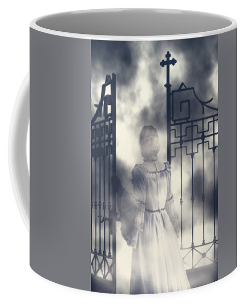 Woman Coffee Mug featuring the photograph The Gate by Joana Kruse