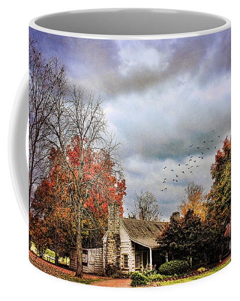 Autumn Coffee Mug featuring the photograph The Gift Shop by Darren Fisher