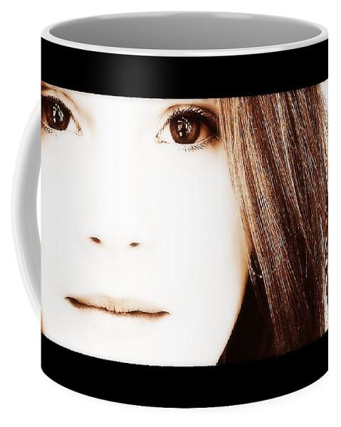 Girl Coffee Mug featuring the photograph The Girl by Marysue Ryan