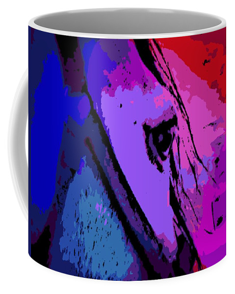 Glance Coffee Mug featuring the photograph the Glance by George Pedro