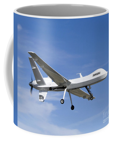 Aeronautics Coffee Mug featuring the photograph The Ikhana Unmanned Aircraft by Stocktrek Images