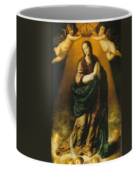 Mary Coffee Mug featuring the photograph The Immaculate Conception by Munir Alawi