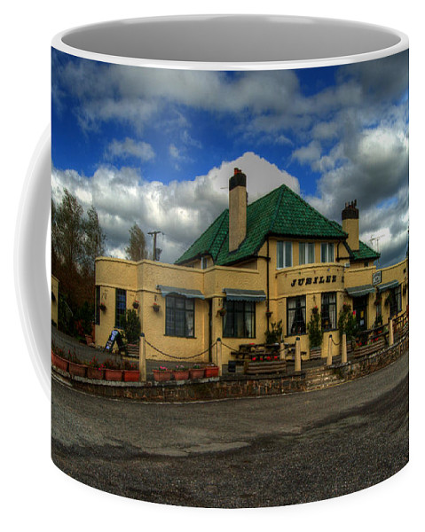 Jubilee Coffee Mug featuring the photograph The Jubilee Inn by Rob Hawkins