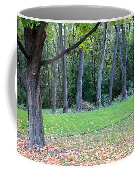 Autumn Coffee Mug featuring the photograph The Leadership by Munir Alawi