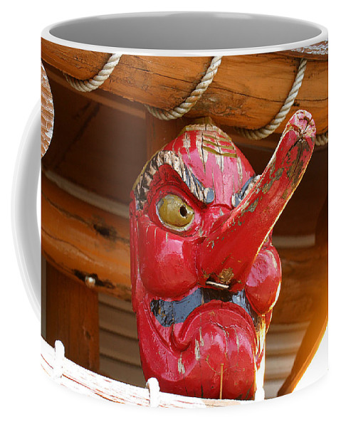 Mask Coffee Mug featuring the photograph The Mask by David Rucker