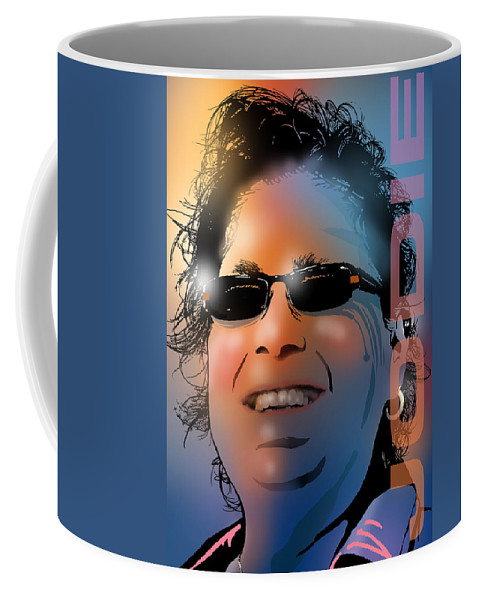 Woman Coffee Mug featuring the painting The Master Planner by Paul Sachtleben