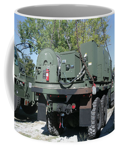 Horizontal Coffee Mug featuring the photograph The Mk48 Logistics Vehicle System by Stocktrek Images