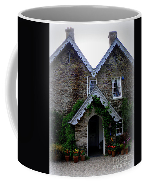 The Old Rectory Coffee Mug featuring the photograph The Old Rectory At St. Juliot by Lainie Wrightson