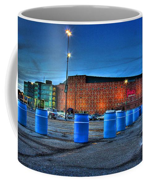 Coffee Mug featuring the photograph The Palace Of Auburn Hills Mi by Nicholas Grunas