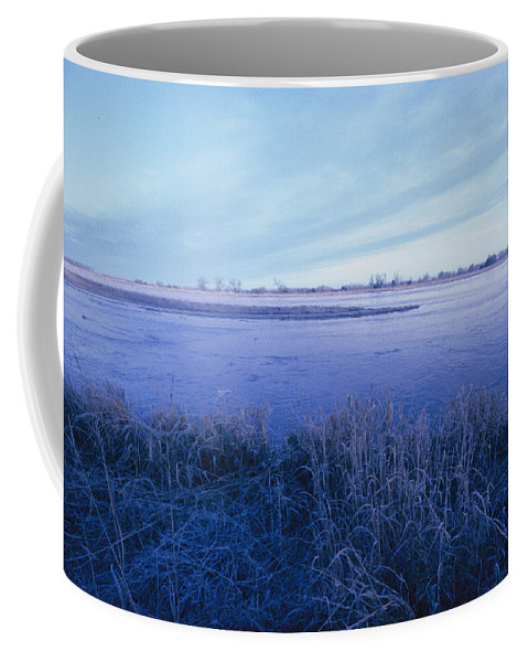 Scenes And Views Coffee Mug featuring the photograph The Platte River In Central Nebraska by Joel Sartore