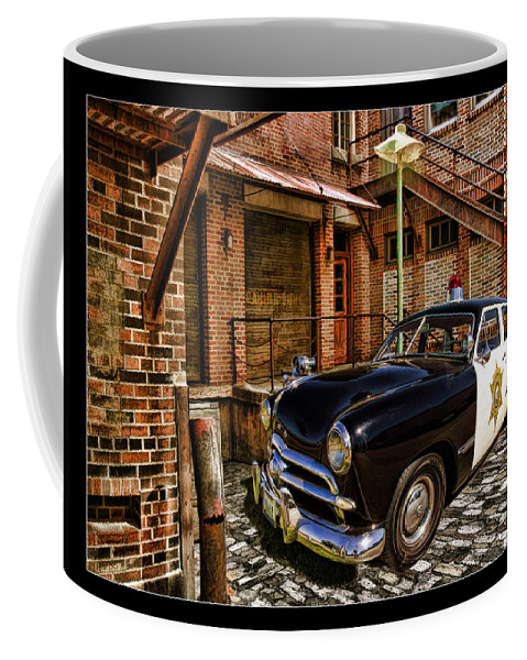 Coffee Mug featuring the photograph The Police Hideout by Blake Richards