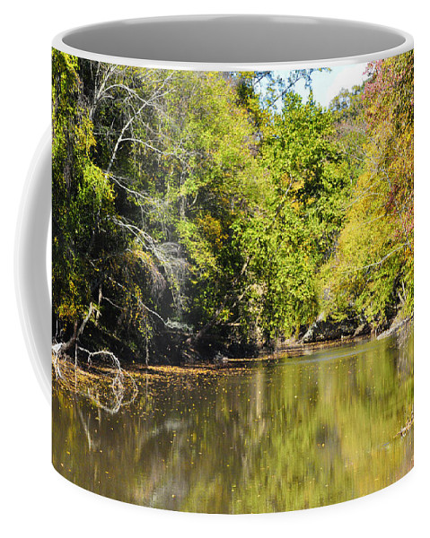 Wissiahickon Coffee Mug featuring the photograph The Quiet Wissahickon by Bill Cannon