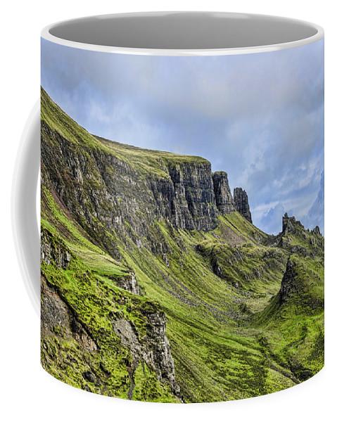 The Quiraing Coffee Mug featuring the photograph The Quiraing 2 by Chris Thaxter