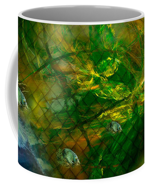 Phil Sadler Coffee Mug featuring the digital art The Return Of...the 'tude by Phil Sadler