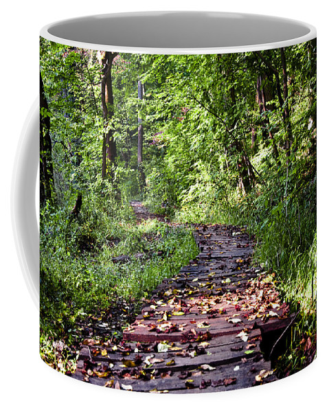 The Road Less Traveled Coffee Mug featuring the photograph The Road Less Traveled by Bill Cannon