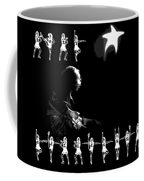 Rock Musicians Coffee Mug featuring the photograph The Rory Rockettes by Ben Upham