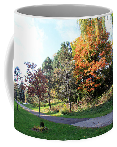 Toronto Coffee Mug featuring the photograph The Shadow by Munir Alawi