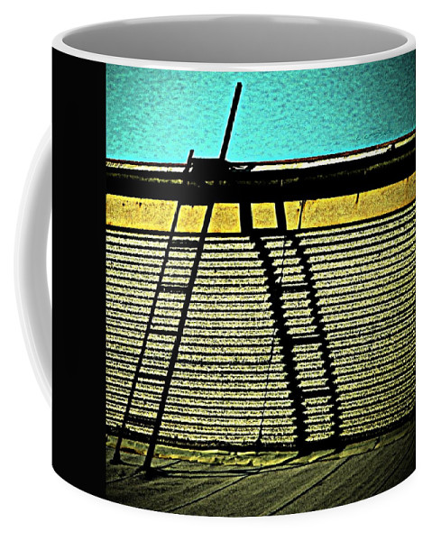 Urban Coffee Mug featuring the photograph The Sky Is The Limit by Chris Berry