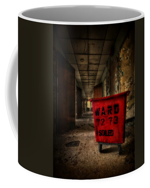 Asylum Coffee Mug featuring the photograph The Soilseeker by Evelina Kremsdorf