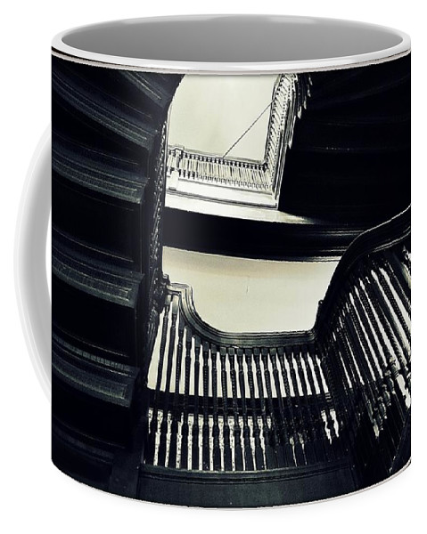 Stairs Coffee Mug featuring the photograph The Stairway by Marysue Ryan