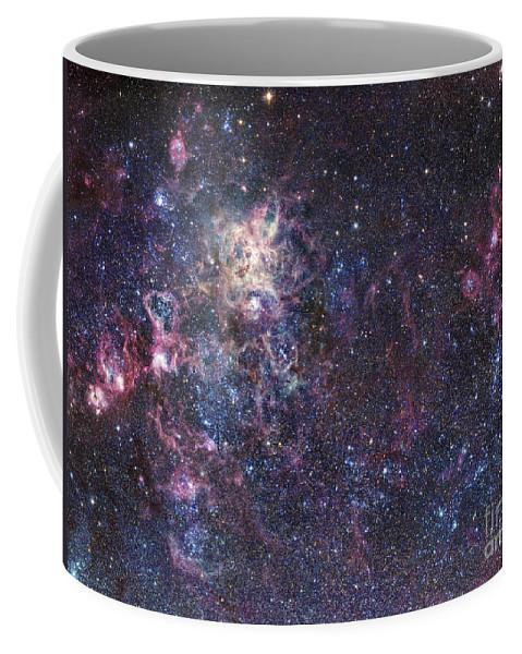 30 Doradus Coffee Mug featuring the photograph The Tarantula Nebula by Robert Gendler