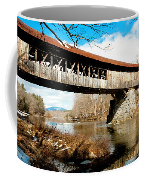 Art Coffee Mug featuring the photograph The Thaw by Greg Fortier